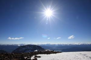 A beautiful summit