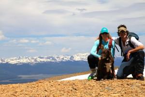 Horseshoe Mountain summit (13,898')