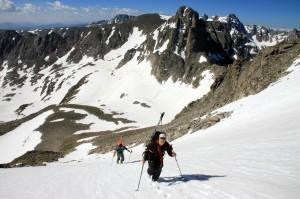 Derek & Russell with Mt. Toll behind