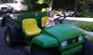 And driving tractors