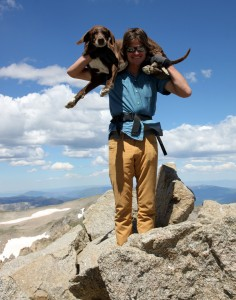 And last but not least, Kona & I. This was Kona's 1st summit of Massive