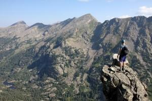 Dylan on the ridge
