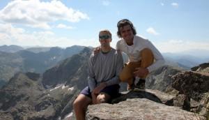 Avalanche Peak summit (12,803)