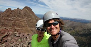 Lightning Pyramid summit (13,722')