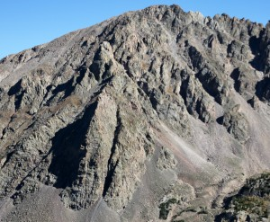 Ryan spotted this northwest buttress on Rain Peak across the valley. Maybe a future climb