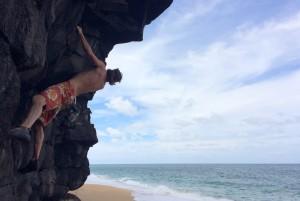 Very scenic bouldering