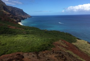 I see you, Kalalau Beach!
