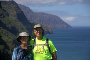 Ken & Dianne and the Napali Coast