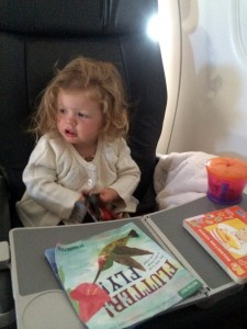 Sawyer en route to Hawaii!