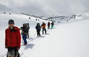 The crew at the 12,000' pass