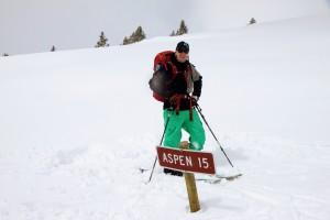 Long ways to Aspen via Richmond Ridge