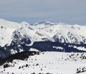 14er Capitol Peak in the distance