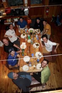 Taco dinner at Markley. Photo by Derek