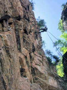 First rappel