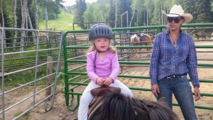 Horse riding at the Beaver Creek Stables