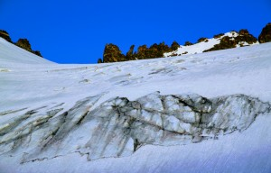 The Dinwoody Glacier and cool spires